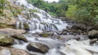 4K Time-Lapse: Mae Ya Waterfall in Chiangmai, Thailand video