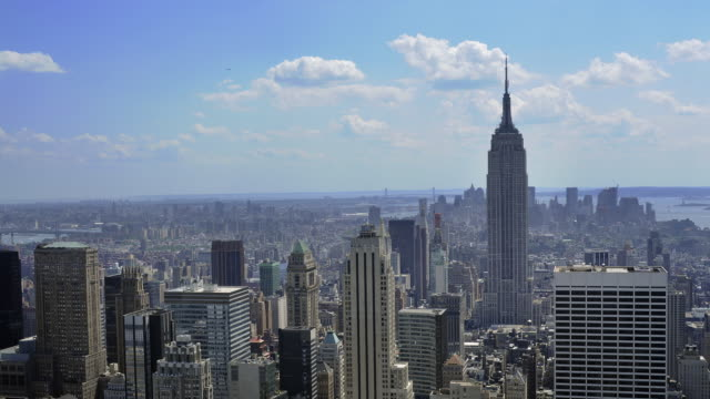 Timelapse -Manhattan Skyline with Empire State Building video