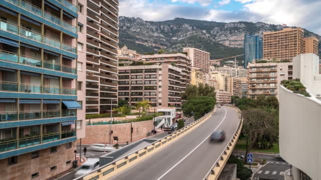 Time-lapse: Monaco Monte Carlo french riviera cityscape video