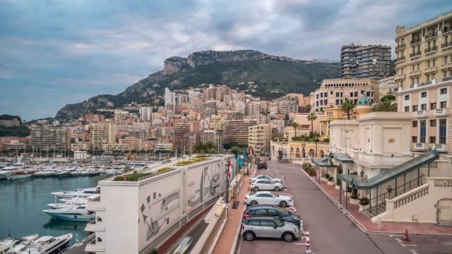 Time-lapse: Monaco Monte Carlo french riviera video