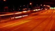 Timelapse Montrose bridge overlook video