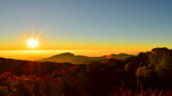 Time-lapse: Mountain Scenic Landscape at Sunrise video