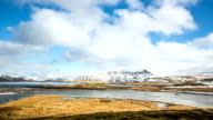 HD Time-lapse: Mountain Snaefellsnes Peninsula, Grundarfjordur Iceland video