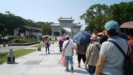 Timelapse - Ngong ping village at hong kong video
