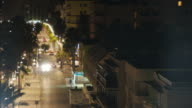 timelapse night street video