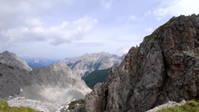 Time-lapse: Nordkette and Karwendel mountain range video