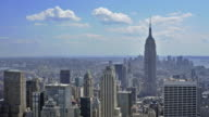 Timelapse -NYC Skyline with Empire State Building video