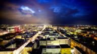 Timelapse of beatiful city sunrise video