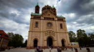 Timelapse of beautiful cathedral in Speyer ('Speyerer Dom') video