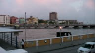 Timelapse of boatbridge closing video