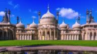 Timelapse of Brighton Royal Pavilions video