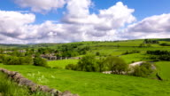 Timelapse of Burnsall village in the Yorkshire Dales video