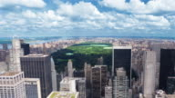 Timelapse of Central Park in New York City video