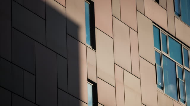 Time-lapse of Cloud Shadows on a Building Exterior video