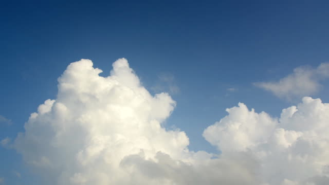 Timelapse of Clouds and Blue Sky video