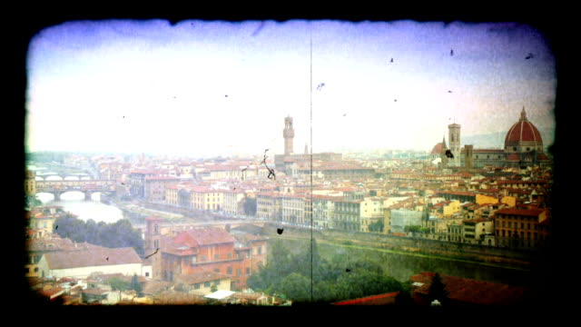 Time-lapse of Florence, Italy skyline. HD video