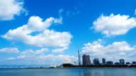 timelapse of Fukuoka city video