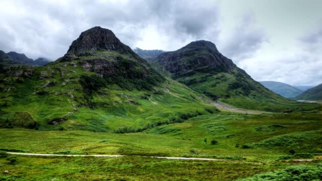Timelapse of Glen Coe (Glencoe), Scotland video