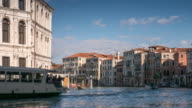 Time-lapse of Grand Canal , Venice Italy video