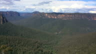 Timelapse of Grose Valley in the Blue Mountains Australia video