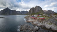 Timelapse of Hamnoy in Lofoten, Norway video