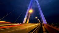 Timelapse of highway / street systems / bridge video