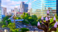 Timelapse of Kunming Cityscape Day to Night, China video