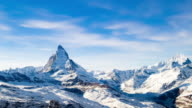 Timelapse of Matterhorn, Switzerland, Zermatt video