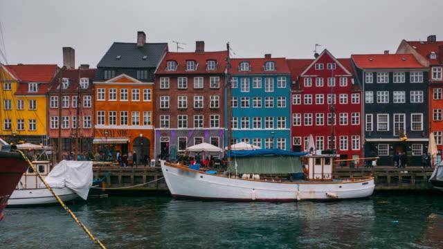 Timelapse of Nyhavn, Copenhagen video