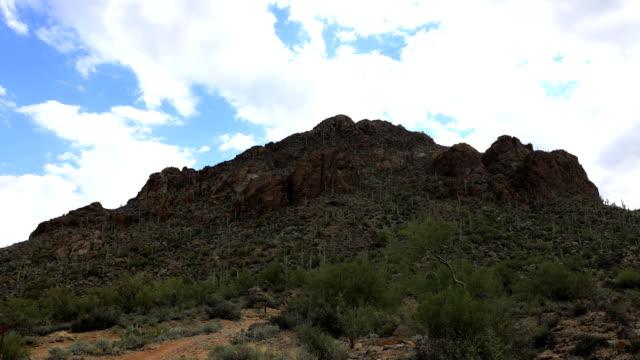 Timelapse of peak in Tucson Mountain Park video