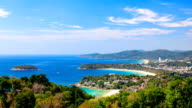 Timelapse of Phuket viewpoint, Southern of Thailand video