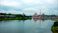 Timelapse Of Putrajaya Mosque video
