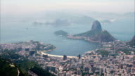 Timelapse of Rio de Janeiro, view from the Corcovado video