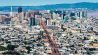 Time-lapse of San Francisco City from Twin Peak video