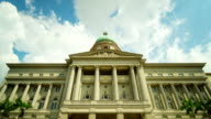 Time-lapse of Singapore City Hall video