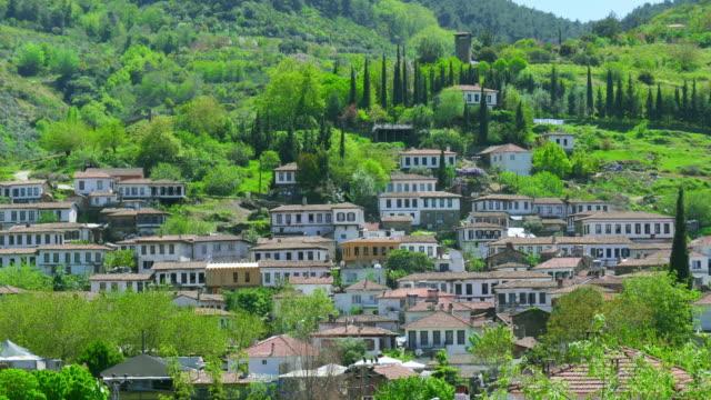 Timelapse of Sirince Village, izmir, Turkey video