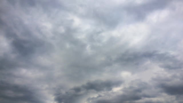 timelapse of storm sky video