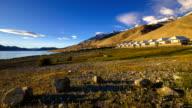 Timelapse of sunrise at Pangong lake, Ladakh, Jammu and Kashmi, India video