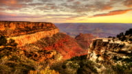 Timelapse of sunrise at the Grand Canyon video