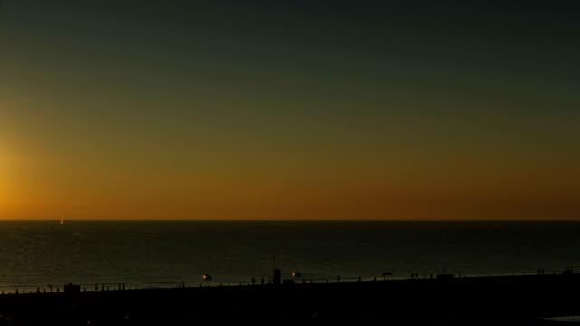 Timelapse of Sunrise on the Adriatic sea - Italy video