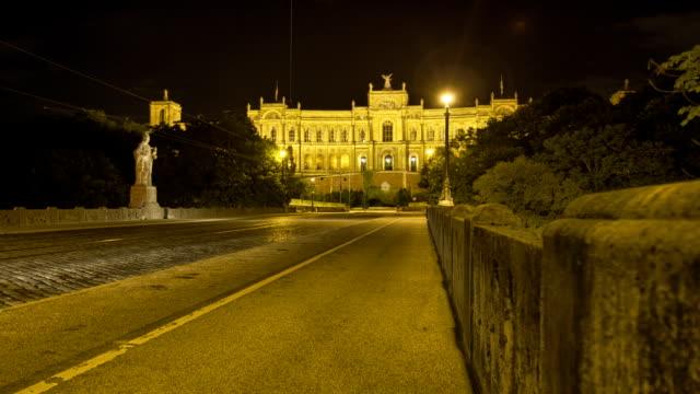 Timelapse of the Bayerischer Landtag in Munich video