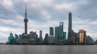 Timelapse of The Bund,Shanghai tower video