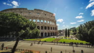 Timelapse of the Coliseum of Rome video