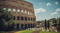 Timelapse of the Colosseo of Rome video