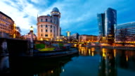 Timelapse of the Danube Canal Vienna - Austria video