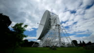 Timelapse of the Lovell Telescope at Jodrell Bank Observatory video