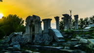 Timelapse of the ruins of the Yuanmingyuan Palace, Beijing, China video