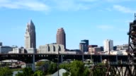 Timelapse of the skyline of Cleveland video