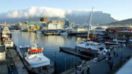 Time-lapse of the Victoria and Alfred Waterfront, Cape Town video