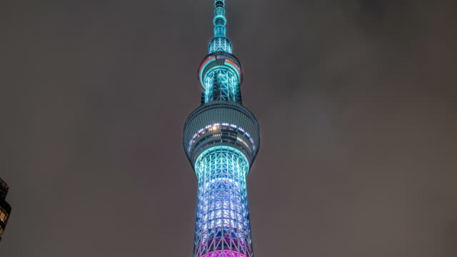 Time-lapse of Tokyo Sky Tree video